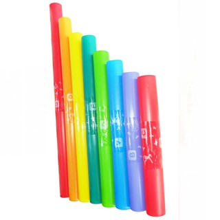 [SWG88] Orff instrument 8-tone sound tube color octave octal tube kindergarten 8 sound tube teaching aids