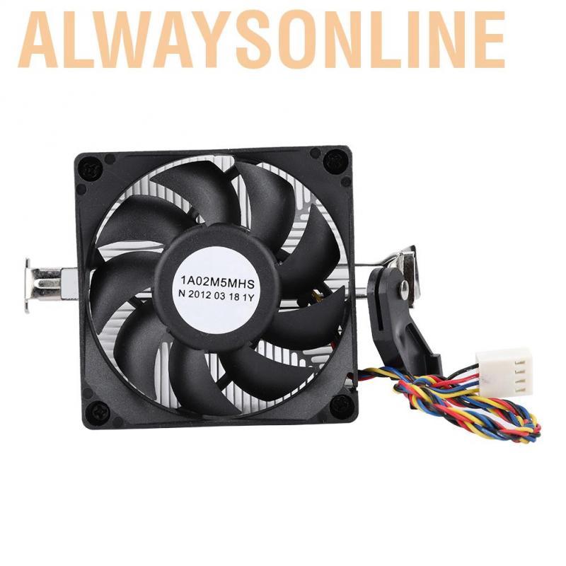 Alwaysonline 12V Hydraulic Processor Water Cooling Case Fan Bearing 2200RPM High Speed Silent Radiator Silencer 7015 F