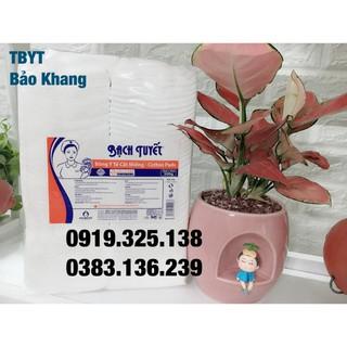 Bông Gòn Cắt Miếng Sẵn Bạch Tuyết (10 10cm) Gói thumbnail