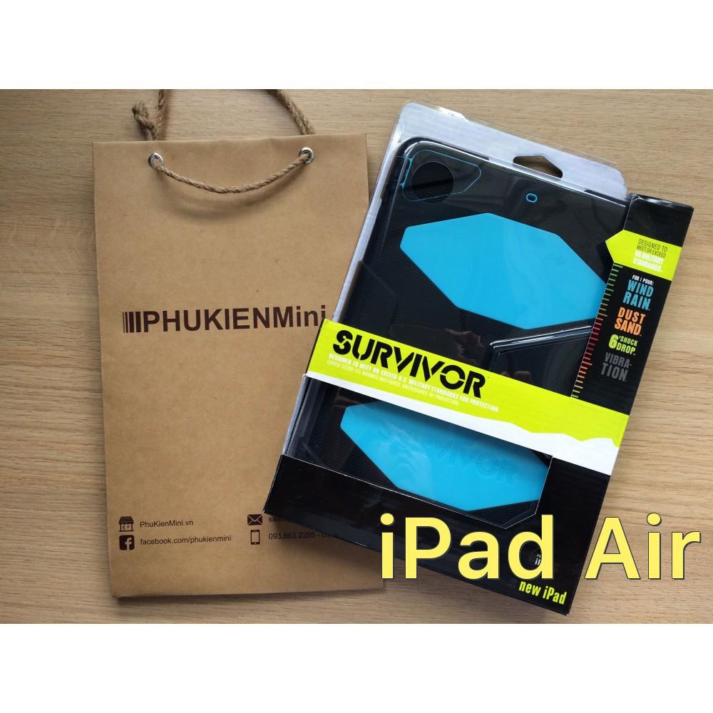 Ốp Survivor 360 chống sốc chuyên dụng cho iPad Air iPad Air - 2797326 , 833553921 , 322_833553921 , 377000 , Op-Survivor-360-chong-soc-chuyen-dung-cho-iPad-Air-iPad-Air-322_833553921 , shopee.vn , Ốp Survivor 360 chống sốc chuyên dụng cho iPad Air iPad Air