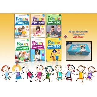 Combo 6 cuốn POmath tư duy Toán cho trẻ em – Bộ học liệu POmath thông minh