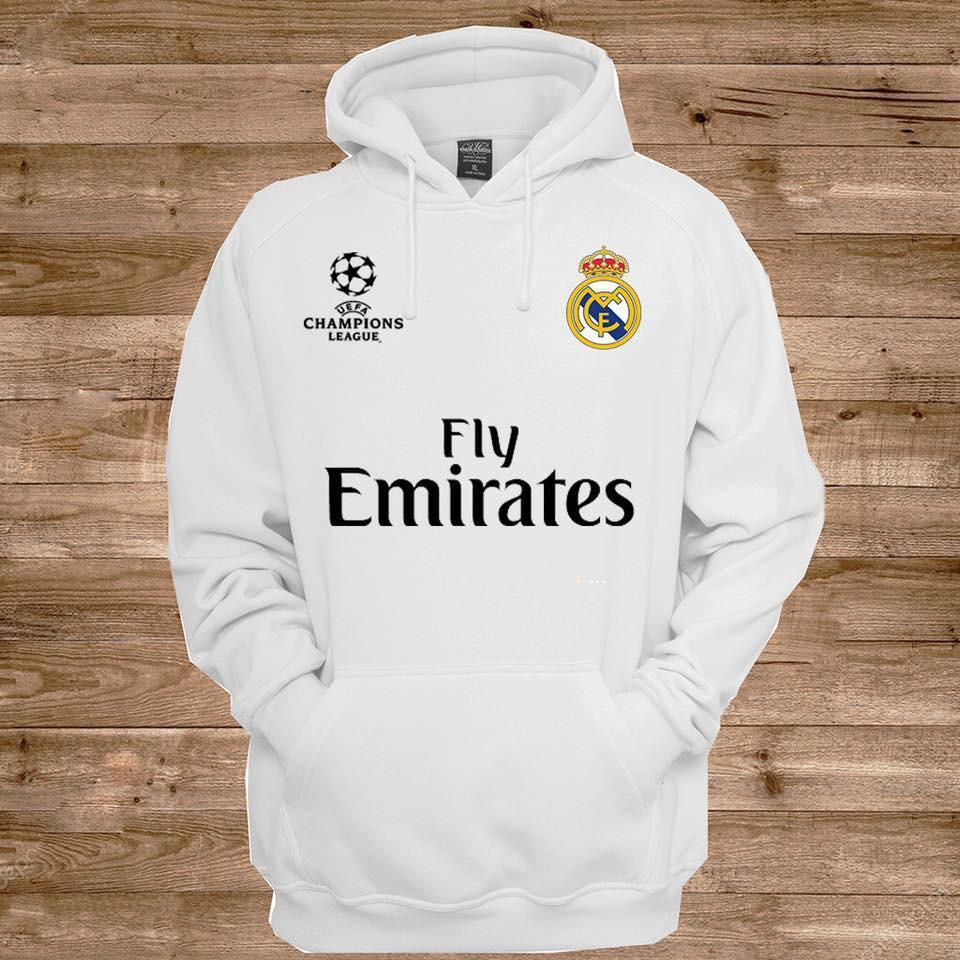 Áo hoodie CLB Real Madrid - Áo khoác nỉ