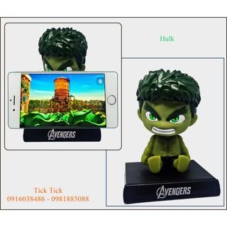 Lắc đầu Hulk – Trang trí Taplo – Giá đỡ điện thoại