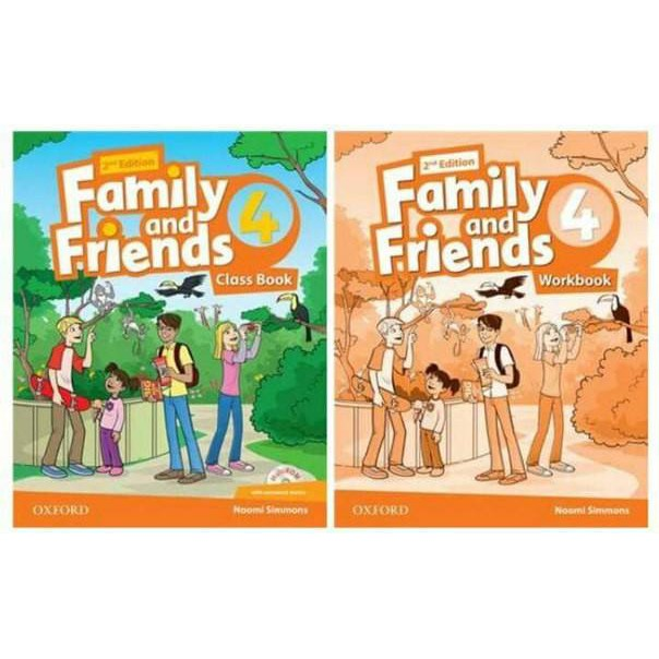 Sách - Trọn bộ Family and Friends 4 second edition