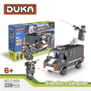 Đồ chơi Ghép hình đội đặc nhiệm - DuKa (228 chi tiết) thumbnail