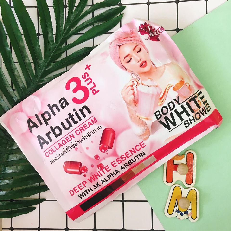 Ủ Trắng Body Alpha Arbutin Cream 3Plus+[ THÁI LAN] mẫu mới nhất