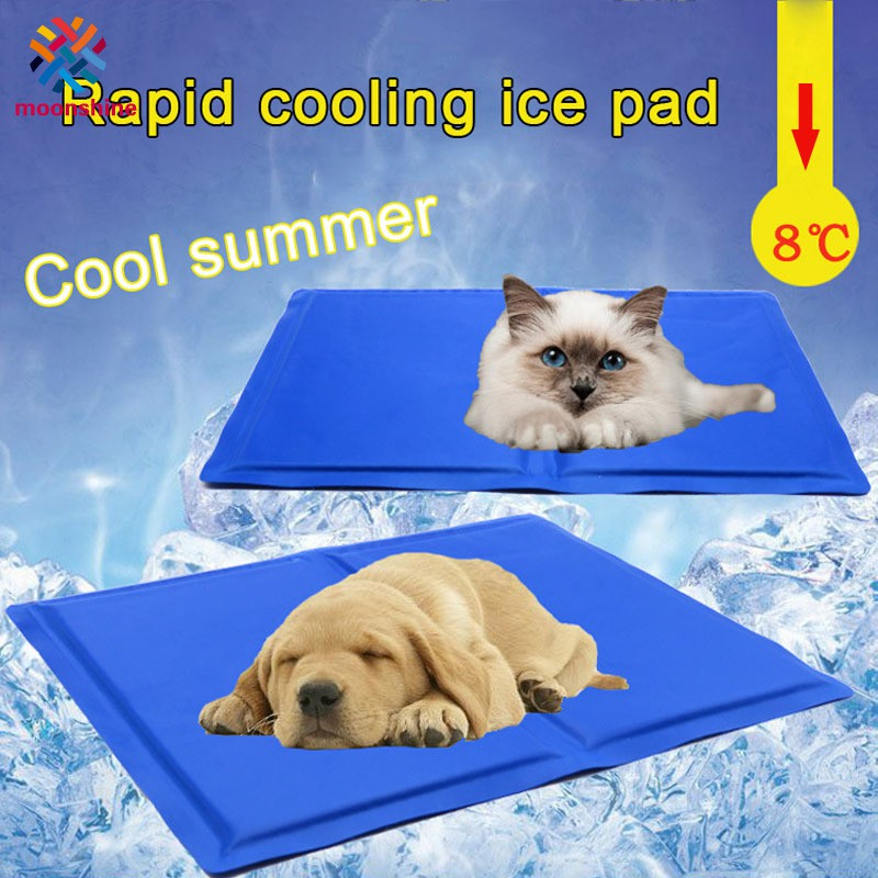Pet Dog Mats Pad Summer Cooling Ice Mattress Portable Comfortable Outdoor Indoor Cushion
