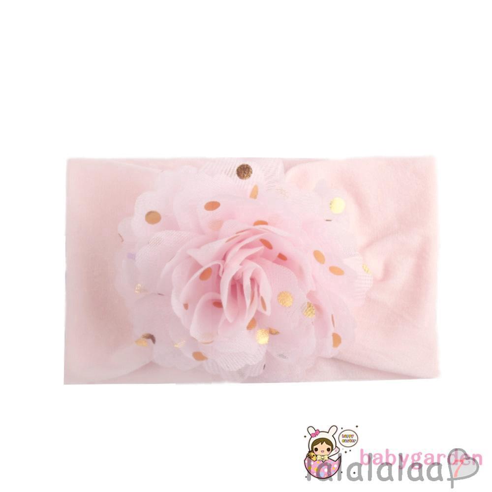 ❆☉❆ღ♛ღBaby Girls Cute Flower Elastic Hair Band Bow Headband Headdress