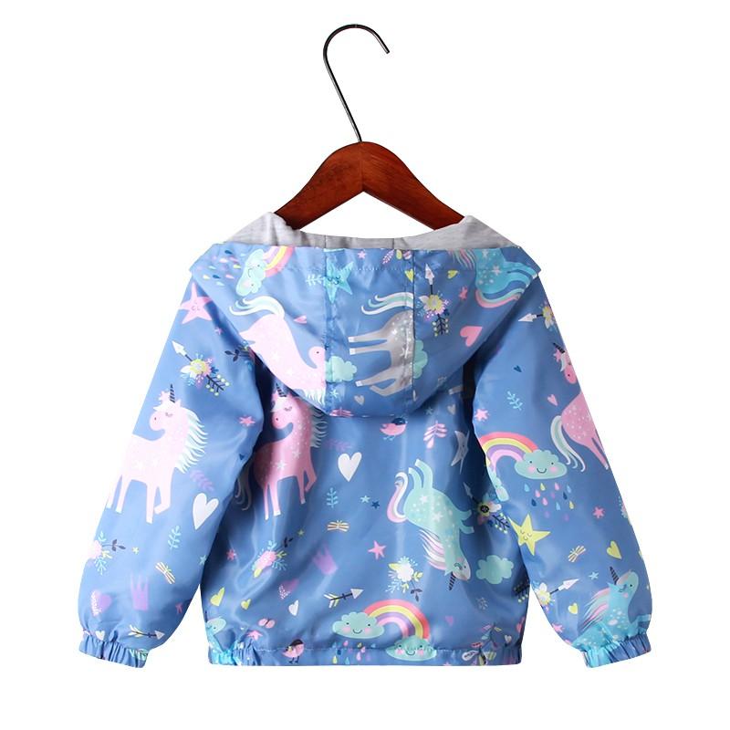 Áo khoác hoodie thiết kế cao cấp dành cho bé gái xinh xắn