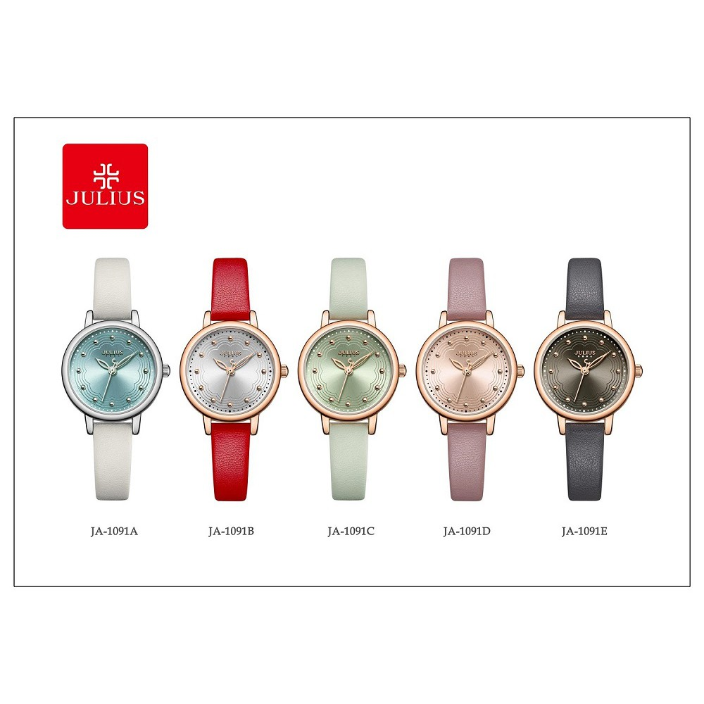 Đồng hồ nữ JA-1091 JULIUS HÀN QUỐC d