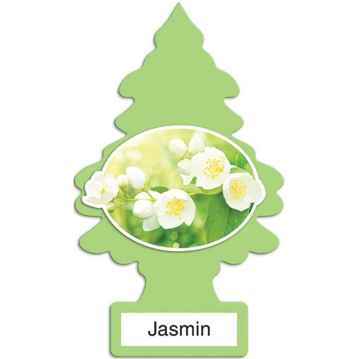 Sáp thơm cây thông little trees hương nhài khử mùi ô tô, phòng ngủ, tủ quần áo, toilet (mẫu mới 2018