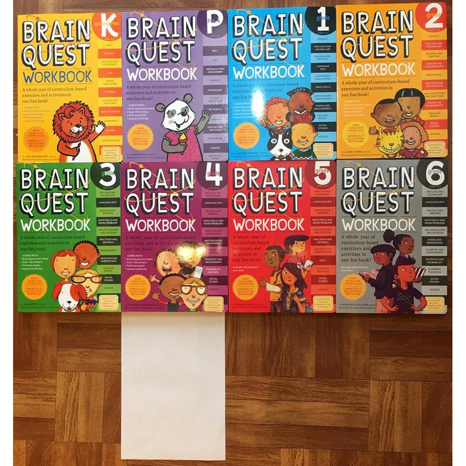 Sách Brain quest Workbook (sách bài tập Tiếng Anh theo chương trình Mỹ) - 3259884 , 1066601777 , 322_1066601777 , 190000 , Sach-Brain-quest-Workbook-sach-bai-tap-Tieng-Anh-theo-chuong-trinh-My-322_1066601777 , shopee.vn , Sách Brain quest Workbook (sách bài tập Tiếng Anh theo chương trình Mỹ)