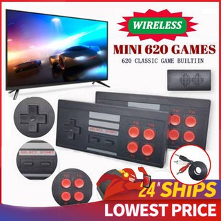 PLAYSTATION Máy Chơi Game Cổ Điển Không Dây 620 Trò Chơi Nes nintendo switch thumbnail