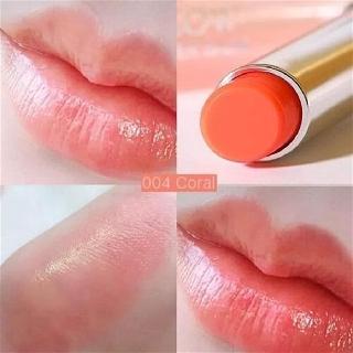 [Chuẩn Auth-Có Sẵn] - Son dưỡng có màu Dior Addict Lip Glow - Màu 004 Coral (Cam Nhạt) - Chống Khô Môi, Mờ Vết Thâm Môi