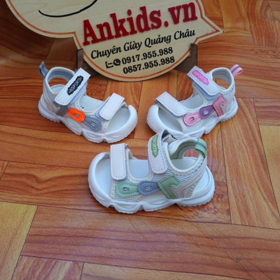 giày san dan tập đi cho bé gái chống vấp Ankids 525