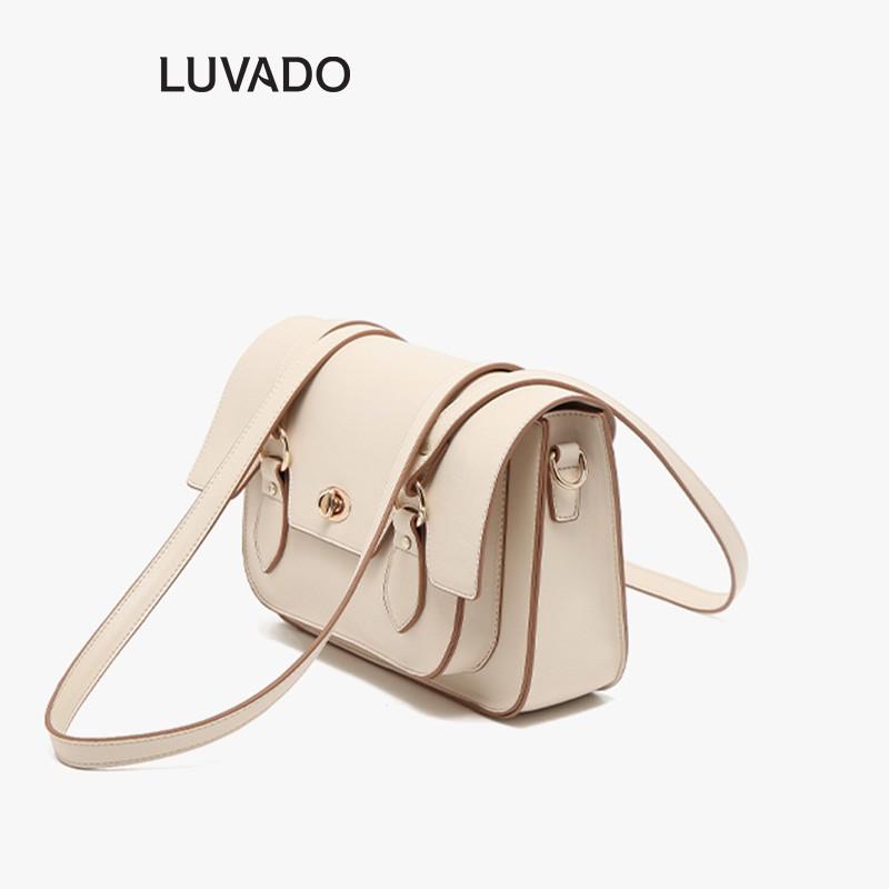 Túi đeo chéo nữ đi chơi MICOCAH da mềm cá tính dễ thương nhiều ngăn LUVADO TX472
