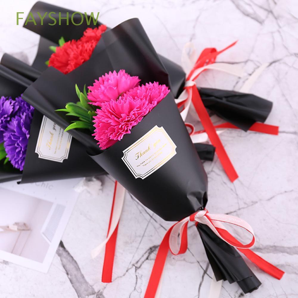 3pcs/bundle Creative  Wedding Decor Party Decoration Blossom Bouquets Green Leaves Artificial Decor