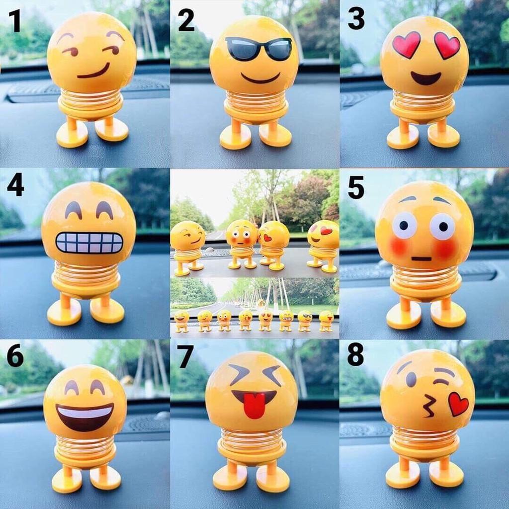 [ẢNH THẬT] Thú Nhún Emoji - Con Lắc Lò Xo Biểu Cảm Gương Mặt Siêu Xinh