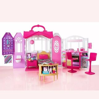 Nhà búp bê barbie gấp gọn cho bé