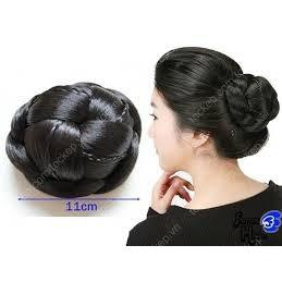 Búi tóc giả nữ - 3463762 , 1192880852 , 322_1192880852 , 50000 , Bui-toc-gia-nu-322_1192880852 , shopee.vn , Búi tóc giả nữ