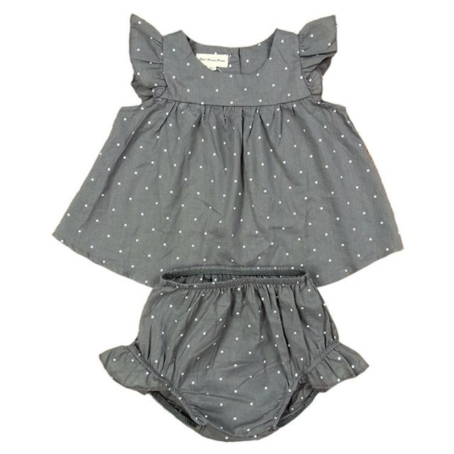Set 2 áo + chíp OUNUJI bé gái