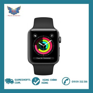 Đồng Hồ Thông Minh Apple Watch Series 3 GPS Aluminum Case With Sport Band - New nguyên seal 38mm