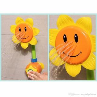 [phukienrenhat99] vòi tắm hoa hướng dương cho bé [PKRN]