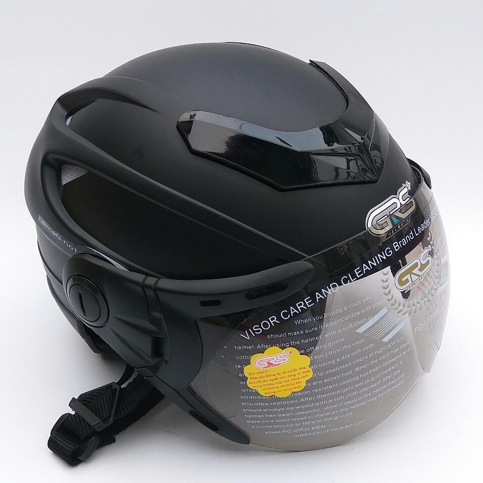 Mũ bảo hiểm nửa đầu GRS A922K – mũ cho người có size đầu lớn