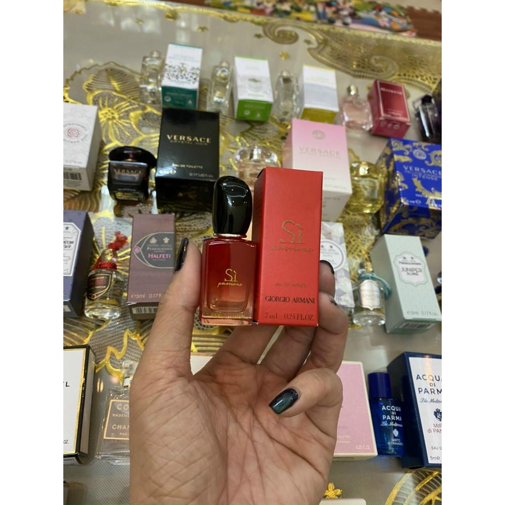 Sỉ - Nước hoa Giorgio Armani Sì đỏ mini  7ml
