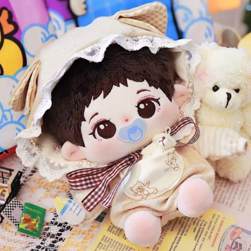 Outfit doll 15/20cm Gấu Sữa Baby (50)