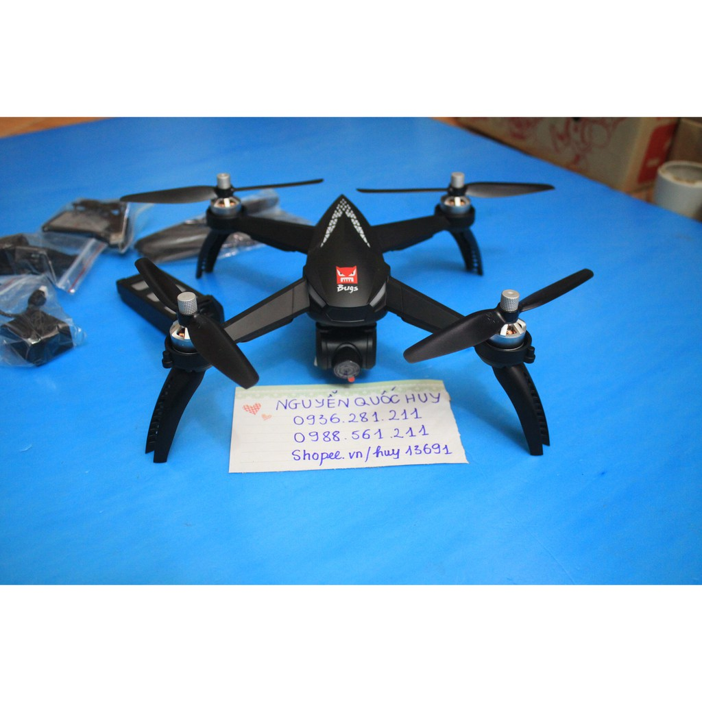 Fly cam MJX Bugs 5w