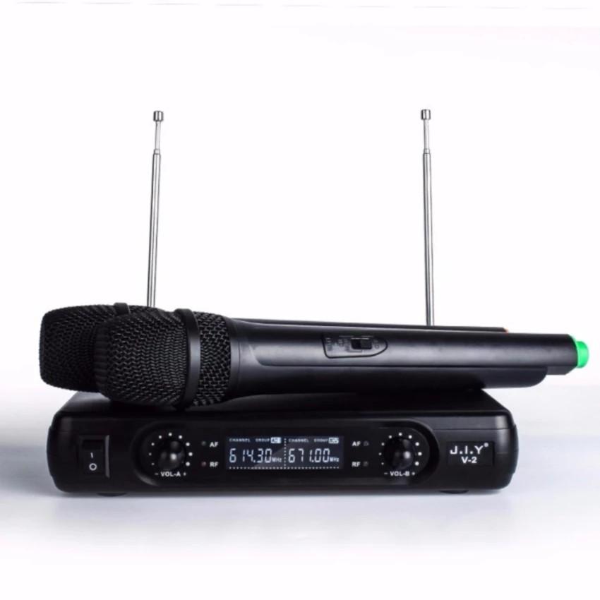 Mic Karaoke J.I.Y V2 Plus - micro không dây