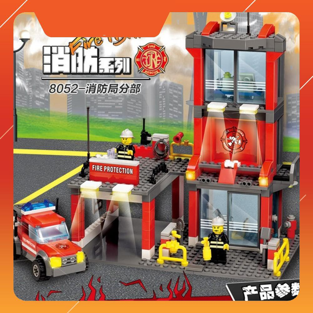 Fire Series Fire Department Toys Assembly6-10 years old Puzzle Toys Models