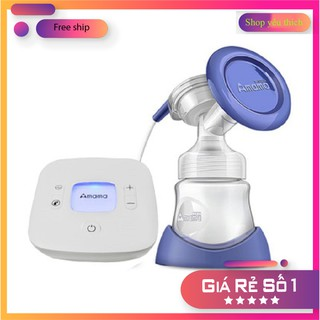 ⭐ 💖 Máy hút sữa vắt sữa điện đơn Amama M15 cho mẹ – hút êm ái dụng cụ không thể thiếu cho mẹ và bé Chính hãng bảo hành