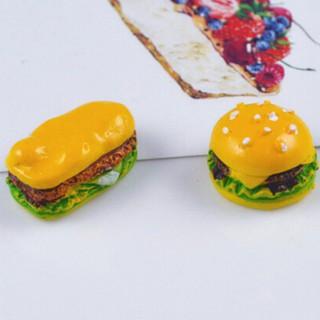 SUN44❤❤ Set 5 đồ chơi làm bánh Hamburger
