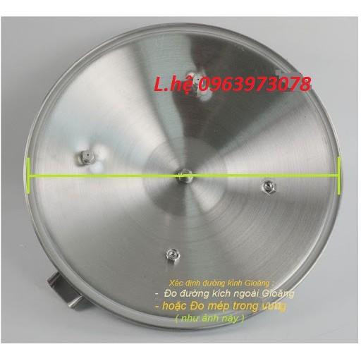 Gioăng tròn đặc nồi áp suất 2 quai gas supor, sunhouse