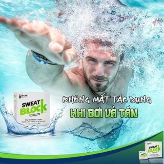 Combo 8 + 1 Goi khử Mùi SweatBlock – Siêu Phẩm Hỗ Trợ Trị Hôi Nách Số 1 Tại Mỹ – Độc Quyền Tại VN