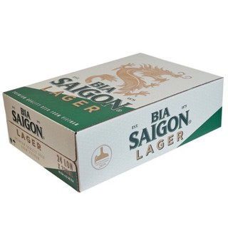 (HSD:13/01/2022) Bia Sài Gòn Lager thùng 24 lon