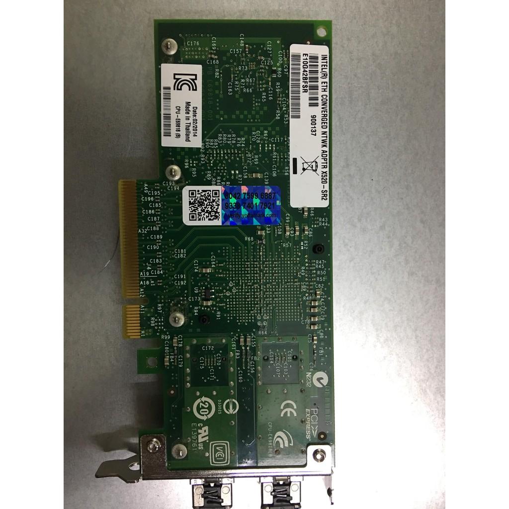 Card quang 10gb kèm 2 modul sfp 10gb Giá chỉ 2.000.000₫