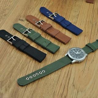 Dây đeo đồng hồ nam bằng vải nylon chất lượng cao thumbnail