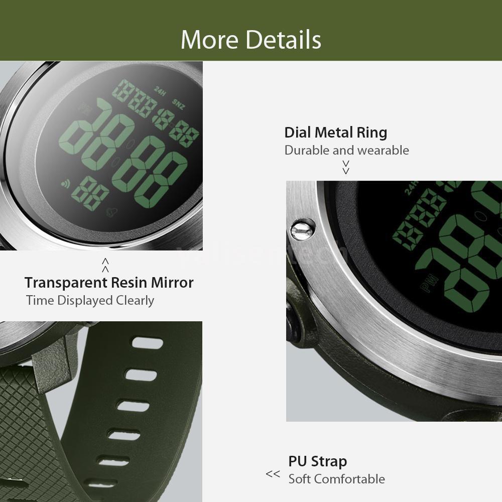 Đồng hồ điện tử đa năng chống nước màn hình hiển thị kỹ thuật số Xiaomi alifit