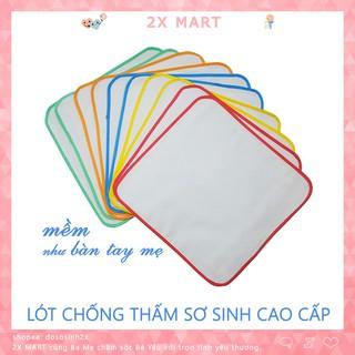 1 Tấm lót chống thấm cho bé sơ sinh Mỹ Hưng cao cấp chất cotton mềm mại giặt máy. Miếng lót / chiếu lót trẻ em – 2X MART