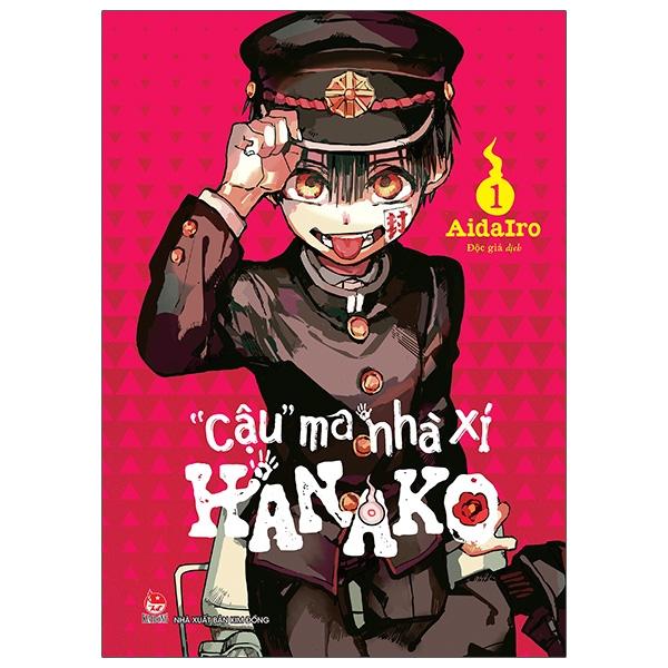 """[Mã LIFE5510K giảm 10K đơn 20K] Sách """"Cậu"""" Ma Nhà Xí Hanako - Tập 1"""