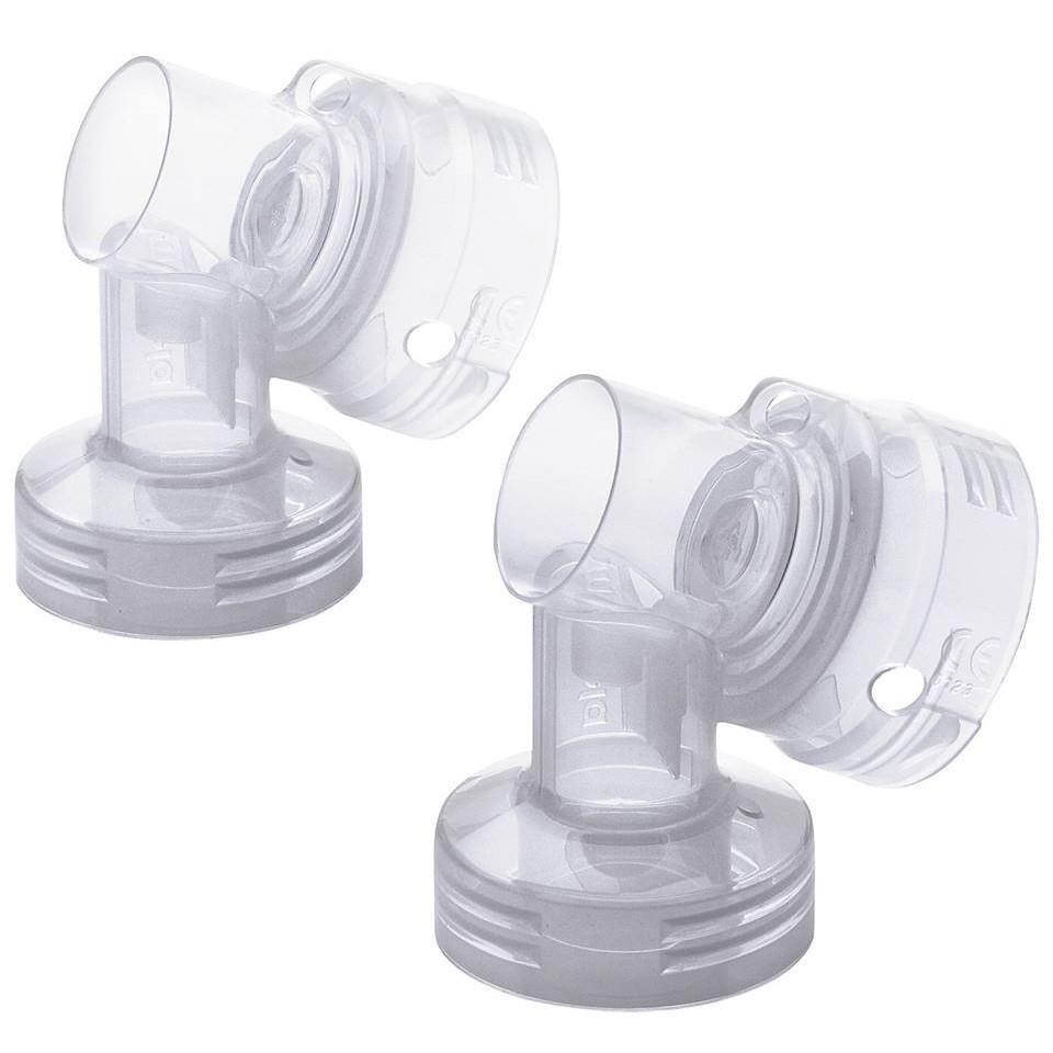 Combo phụ kiện máy hút sữa Pump ( 2 phễu 24mm + 2 cổ nối + 1 van vàng + 1 cọ phụ kiện munckin)