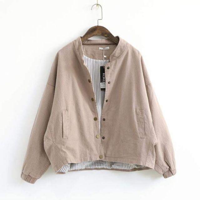 [Giá sốc] Siêu phẩm áo khoác kaki nữ Hàn Quốc cực chất - 3360940 , 1328869349 , 322_1328869349 , 300000 , Gia-soc-Sieu-pham-ao-khoac-kaki-nu-Han-Quoc-cuc-chat-322_1328869349 , shopee.vn , [Giá sốc] Siêu phẩm áo khoác kaki nữ Hàn Quốc cực chất