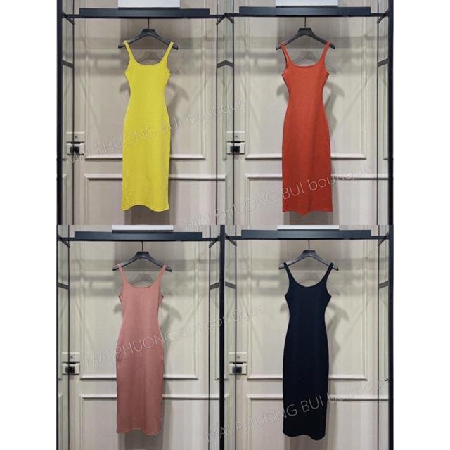 Đầm body 2 dây tôn dáng siêu xinh nhiều màu cho nàng phong cách - Carotshop