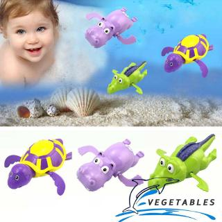 VD ❀Swimming turtle / hippo / crocodile animal toy kid bath