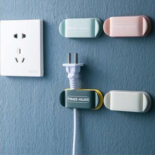 Kẹp giữ ổ cắm điện, cáp sạc điện thoại trên bàn làm việc