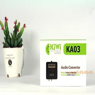 Bộ chuyển đổi optical KIWI KA03 chính hãng - BH 12 tháng