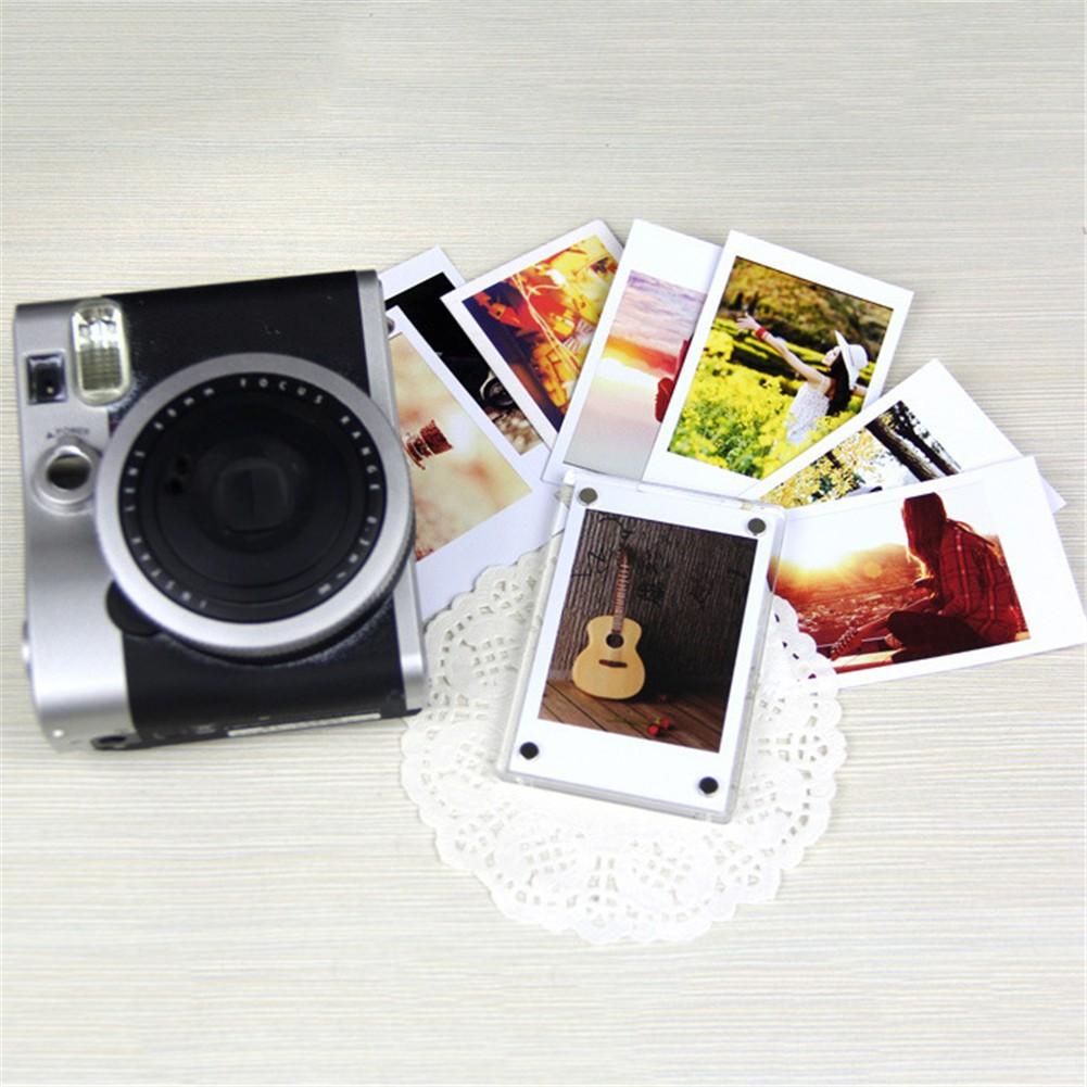 CAIUL Refrigerator Magnetic Stickers Phone Printer Photos Acrylic Photo Frame